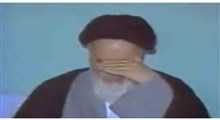 روضه خوانی مرحوم فلسفی در محضر امام خمینی (ره)