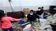 توزیع بستههای معیشتی میان نیازمندان شهرستان کنگاور