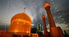 تجمع مردم مقابل درب های بسته حرم مطهر حضرت معصومه(س)