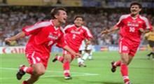 ۲۳ سال پیش،گل حمید استیلی به امریکا در جام جهانی ۱۹۹۸