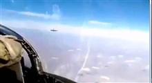 شاهکار خلبان ایرانی در مواجهه با جنگنده آمریکایی