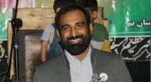 مداحی اعیاد شعبانیه/ فرزاد: من غلام نوکراتم (شور)