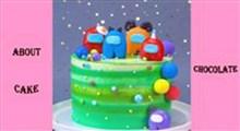 کیک|طرز تهیه کیک among us