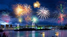 آتش بازی المپیک ٢٠٢٠ توکیو