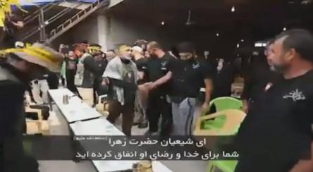 نماهنگ/ اجرای غافلگیرانه گروه تواشیح در موکبهای عراقی