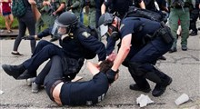 فیلم  آزاردهنده از دستگیری کودک مدرسه ای به دست پلیس آمریکا