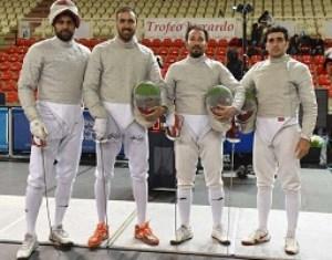 نایب قهرمانی شمشیربازان ایران در جام جهانی ایتالیا/صعود شمشیربازی ایران به رده چهارم جهان
