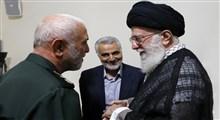روایتی از آخرین دیدار شهید همدانی با رهبر انقلاب از زبان سردار سلیمانی/فیلم