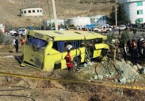 حکم حادثه اتوبوس واحد علوم تحقیقات چه شد؟