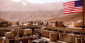 حمله خمپارهای به پایگاه نظامی در شمال بغداد که نیروهای آمریکایی نیز در آن حضور دارند