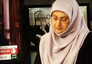 خداحافظی مژگان صارمی با تلویزیون   خبر شهادت حججی را بهسختی و با بغض خواندم