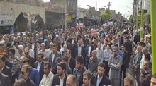 راهپیمایی مردم بصیر و آگاه دزفول در محکومیت آشوب های اخیر