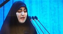 دختر شهید سردار سلیمانی: پدرم به شوق شهادت با دشمنان پیکار کرد/ خانوادههای سربازان آمریکایی منتظر مرگ فرزندانشان باشند