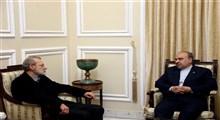 رئیس مجلس در دیدار با سلطانیفر: رفتار مجامع جهانی نسبت به ورزش و فوتبال ایران باید مطابق منشورهای بینالمللی باشد