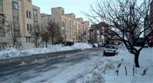 هشداروقوع سیلاب و آبگرفتگی معابر شهری/ بارش برف تا 110 سانتیمتر در برخی شهرها