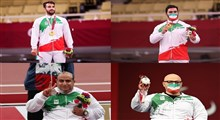 کولاک طلایی پاراجودو/ ۲ طلا و ۲ نقره برای کاروان ایران در روز پنجم