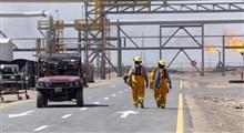 حمله موشکی به شرکت نفتی آمریکا در عراق