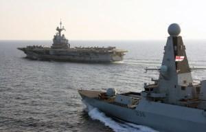 انگلیس به ائتلاف دریایی با آمریکا در خلیج فارس ملحق میشود/استقبال پنتاگون از پیوستن انگلیس به این ائتلاف