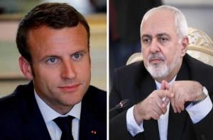ظریف پس از دیدار با مکرون: برجامقابل مذاکره مجدد نیست/تماسهای«مکرون»و«روحانی»ادامه مییابد