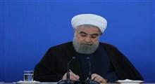 پیام تسلیت روحانی در پی حادثه واژگونی اتوبوس تهران گنبد