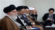 رهبر انقلاب در دیدار با مسئولان حج: ایستادگی ملت ایران آمریکا را عصبانی کرده و برای دنیا جذاب است
