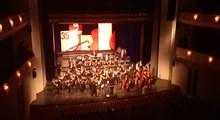 جشنواره موسیقی فجر رسما افتتاح شد/  ارکستر سمفونیک صدا و سیما آغازگر مراسم بود