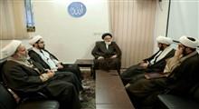 اعضای دفتر مطالعات اسلامی پژوهشگاه فضای مجازی با رئیس بنیاد فقهی مدیریت اسلامی دیدار کردند