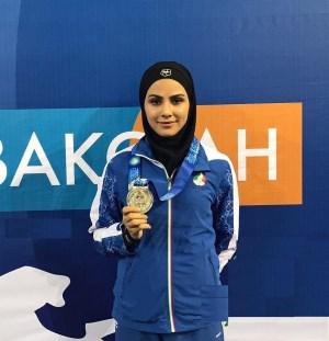 سارا بهمنیار در گفتگو با راسخون: سختی ها را برای رسیدن به رویای المپیک تحمل می کنم/هنوز سهمیه ام قطعی نشده است