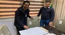 فرهاد مجیدی به عنوان سرمربی استقلال قراردادش را در هیات فوتبال ثبت کرد