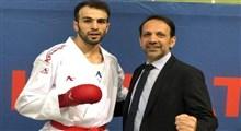 حضور بهمن عسگری کاراته کای تیم ملی کاراته در المپیک 2020 قطعی شد