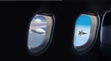 رهگیری هواپیمای ایرانی توسط جنگنده های آمریکا