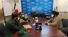 تعامل میان سپاه استان قم با نشریات و جراید استان باید تقویت شود