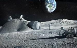 سازمان فضایی اروپا اکسیژن و آب از ماه استخراج میکند