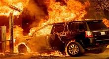 بحران آتش سوزی و موج گرما در کالیفرنیا/  رکورد بیشترین دمای زمین شکسته خواهد شد؟