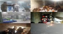 وقوع آتش سوزی در بیمارستان بیماران کرونایی در بغداد