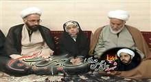 امام جمعه مردمی مشکین دشت به فرزند شهیدش پیوست