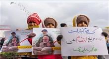 پلاکاردهای جالب مردمی در راهپیمایی 22 بهمن+ عکس