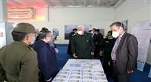 بازدید جمعی از نمایندگان مجلس شورای اسلامیاز نمایشگاه وزارت دفاع در حوزه مقابله با کرونا