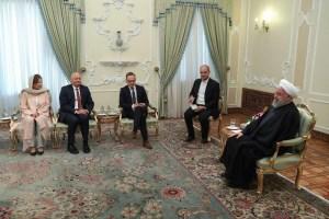 کشورهای اروپایی باید در برابر تروریسم اقتصادی آمریکا علیه ایران ایستادگی کنند