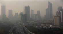 احتمال افزایش غلظت آلایندهها در برخی کلانشهرها