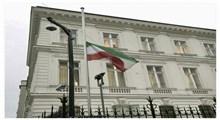پرچم سفارتخانه های ایران در خارج از کشور نیمه افراشته می شود