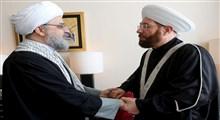 دیدار دبیرکل مجمع جهانی تقریب مذاهب اسلامی و مفتی اعظم سوریه