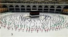 مناسک حج سال ۱۳۹۹ به پایان رسید + فیلم و تصاویر