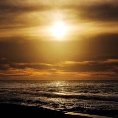 عکس غروب خورشید با کیفیت بالا