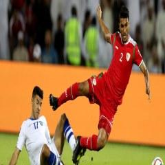 تیم ملی عمان در مقابل ازبکستان