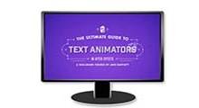 آموزش کامل انیمیشن نوشته ها در افترافکت با دانلود Skillshare The Ultimate Guide to Text Animators in After Effects