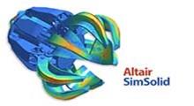 نرم افزار ساده سازی فرآیند تحلیل المان محدود در اسمبلی های CAD با دانلود Altair SimSolid v2019.1.0 Build 35 x64