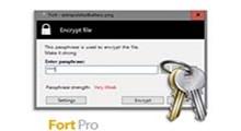 دانلود Fort Pro v5.0.0 - نرم افزار رمزگذاری فایل ها و پوشه ها
