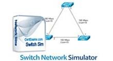 نرم افزار شبیه سازی شبکه های مبتنی بر سوییچ با دانلود CertExams Switch Network Simulator v3.2.0