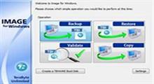 مجموعه ای از پشتیبان گیری با TeraByte Drive Image Backup & Restore Suite 3.26